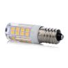 Energiahaza LED lámpa , égő , kukorica , E14 foglalat , 5 Watt , 360° , hideg fehér