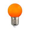 Energiahaza Színes LED lámpa E27 1 Watt Narancs