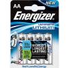 """ENERGIZER Elem, AA ceruza, 4 db, Lítium, ENERGIZER """"Ultimate Lithium"""""""