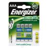 """ENERGIZER Tölthető elem, AAA mikro, 4x700 mAh, ENERGIZER """"Power Plus"""" (EA639483)"""