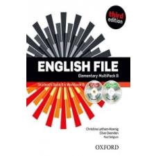 English File third edition: Elementary: MultiPACK B nyelvkönyv, szótár