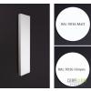 Enix Plain Vertical 1013W Fehér Radiátor 1800x400mm (VP20-Typ20)