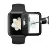 ENKAY edzett tartós 3D üveg kerettel Apple Watch 38mm - 0.2mm