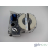 Epson LC-7WLN utángyártott feliratozószalag kazetta 36 mm * 8m fehér alapon kék nyomtatás