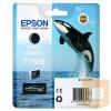 Epson Patron Ultrachrome® HD, T7608, Killer Whale, Singlepack, 1 x 25.9 ml Matte Black