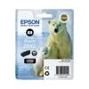 Epson T26314010 Fotópatron XP 600, 700, 800 nyomtatókhoz, EPSON fekete, 8,7ml