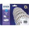 Epson T79124010 Tintapatron Workforce Pro WF-5110, WF-5690 nyomtatókhoz, EPSON, cián, 0,8k