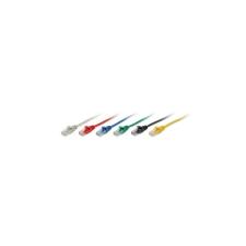 Equip 825446 UTP CAT5e Patch kábel 10m - zöld kábel és adapter