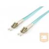 Equip optikai patch kábel LC-LC duplex mm 50/125 OM3 LSOH, 3m