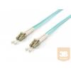Equip optikai patch kábel LC-LC duplex mm 50/125 OM3 LSOH, 5m