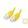 Equip U/UTP Cat6 patch kábel 0.5m sárga