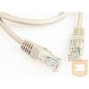 Equip U/UTP Cat6 patch kábel 3.0m szürke