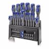 ERBA csavarhúzó és bit készlet asztali állvánnyal 39 db-os