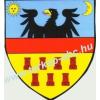 Erdély címer hűtőmágnes