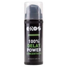 Eros Delay 100% Power késleltető koncentrátum 30 ml masszázsolaj és gél