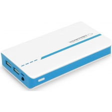 Esperanza ATOM (EMP107WB) 11000mAh - fehér/kék power bank power bank