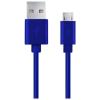Esperanza USB 2.0 - Micro USB kábel 1m kék