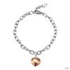 Esprit Női karkötő ezüst Shades of szerelem rózsa ESBR91496B180
