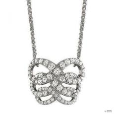 Esprit Női Lánc Collier ezüst cirkónia FLEURY ESNL91799A420