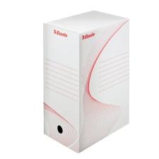 "ESSELTE Archiváló doboz, A4, 150 mm, karton, ESSELTE ""Standard"", fehér irattartó"