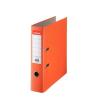 """ESSELTE """"Economy"""", 75 mm, A4, PP/karton, élvédő sínnel, narancssárga iratendező"""