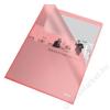 ESSELTE Genotherm, L, A4, 105 mikron, narancsos felület, ESSELTE Standard, piros (E60833)