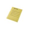 ESSELTE Genotherm lefűzhető -47201- A4, víztiszta sárga, ESSELTE, 10db/csom