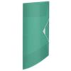"ESSELTE Gumis mappa, 15 mm, PP, A4, ESSELTE ""Colour`Ice"", zöld"