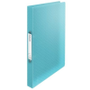ESSELTE Gyűrűs könyv, 2 gyűrű, 25 mm, A4, PP, ESSELTE  Colour Ice , kék