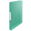 ESSELTE Gyűrűs könyv, 2 gyűrű, 25 mm, A4, PP, ESSELTE  Colour Ice , zöld