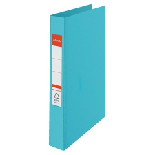 ESSELTE Gyűrűs könyv, 2 gyűrű, 42 mm, A4, PP, ESSELTE  Colour Ice , kék irodalom