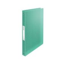 "ESSELTE Gyűrűs könyv, 4 gyűrű, 25 mm, A4, PP, ESSELTE \""Colour`Ice\"", zöld irodalom"