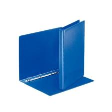 ESSELTE Gyűrűs könyv, panorámás, 4 gyűrű, 25 mm, A4, PP/PP, , kék mappa
