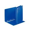 ESSELTE Gyűrűs könyv, panorámás, 4 gyűrű, D alakú, 35 mm, A4, PP/PP, , kék