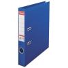 ESSELTE Iratrendező, 50 mm, A4, PP/PP, élvédő sínnel, ESSELTE Standard, kék (E811450)