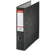 ESSELTE Iratrendező, 75 mm, A4, karton, ESSELTE Rainbow, fekete (E17929)