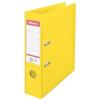 "ESSELTE Iratrendező, 75 mm, A4, PP/PP, élvédő sínnel, ESSELTE ""Standard Vivida"", sárga"