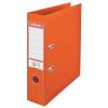 ESSELTE Iratrendező, 75 mm, A4, PP/PP, élvédő sínnel, ESSELTE Standard, narancssárga