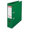 ESSELTE Iratrendező, 75 mm, A4, PP/PP, élvédő sínnel, ESSELTE Standard, zöld (E811360)