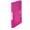 Esselte Kft. LEITZ WOW JUMBO gumis mappa, PP, rózsaszín
