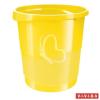 "ESSELTE Papírkosár, 14 liter, ESSELTE ""Europost"", Vivida sárga"