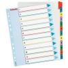 ESSELTE Regiszter -100209- A4 maxi 1-12 karton újraírható ESSELTE10cs/dob