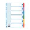 ESSELTE Regiszter, karton, A4, 6 részes, írható előlappal