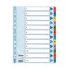 "ESSELTE Regiszter, laminált karton, A4, 1-12, ESSELTE ""My"
