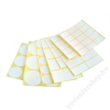 . Etikett,  20x38 mm, 60 etikett/csomag (ISCIN2038)