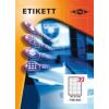 Etikett címke pd 70x25.4 szegéllyel 3300 db/doboz