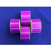 Etikett, thermo, 25x45 mm, 1000 etikett/tekercs, lila
