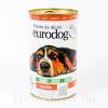 Euro dog kutyakonzerv marha - 1240g
