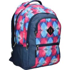 f08248e8bd4f Eurocom d.o.o Street hátizsák, 2019, kék, piros-világoskék mintás, Drop (