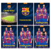 Eurocom FC Barcelona: sima füzet - A4, 80-54, többféle